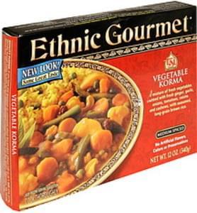 Ethnic Gourmet Vegetable Korma Medium Spiced