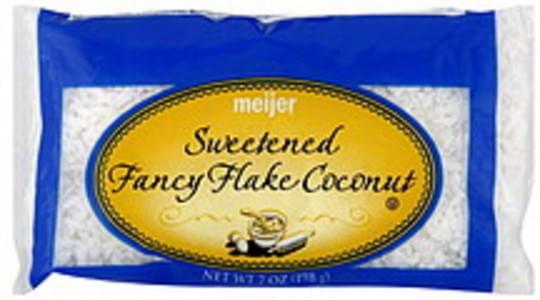 Meijer Coconut Sweetened Fancy Flake