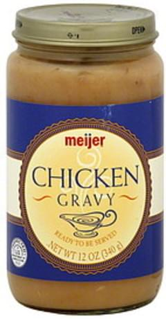 Meijer Gravy Chicken