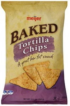 Meijer Tortilla Chips Baked