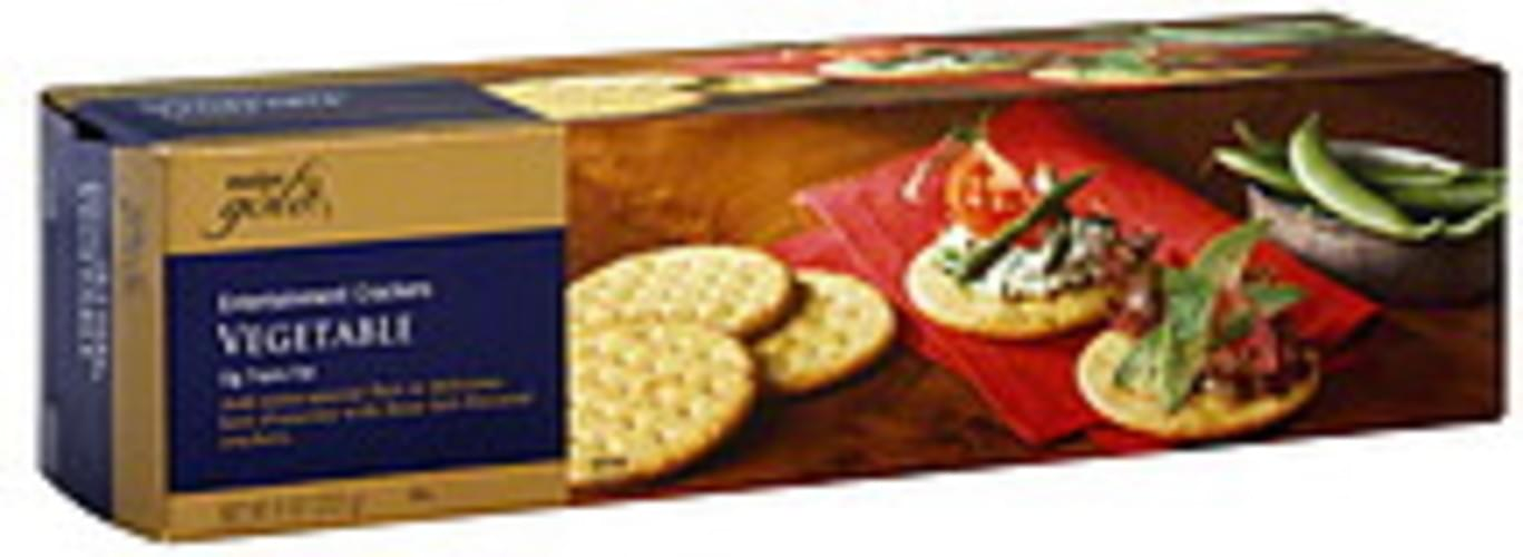 Meijer Gold Vegetable Entertainment Crackers 8 Oz Nutrition Information Innit