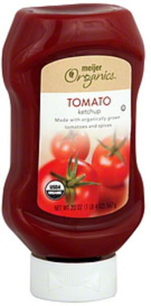 Meijer Organics Tomato Ketchup - 20 oz