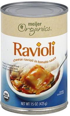 Meijer Organics Ravioli