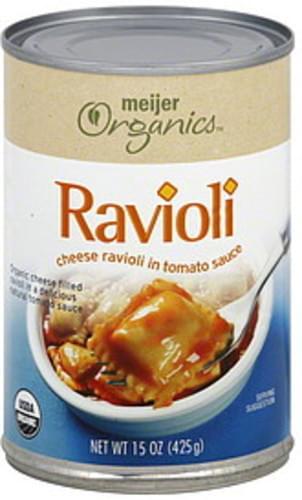Meijer Organics Ravioli - 15 oz