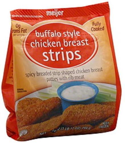 Meijer Buffalo Style Chicken Breast Strips - 28 oz