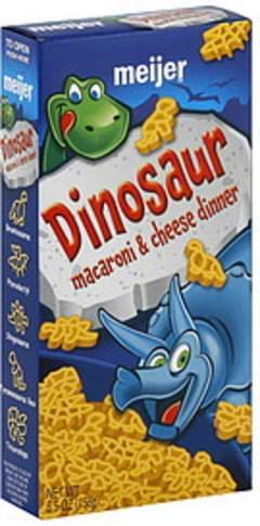 Meijer Macaroni & Cheese Dinner Dinosaur