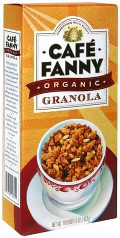 Cafe Fanny Granola - 1 lb
