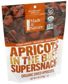 Made In Nature Dried Apricots Organic, Unsulfured