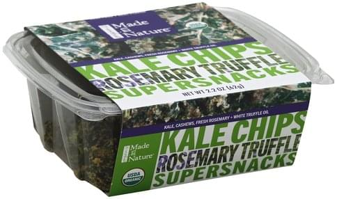 Made In Nature Rosemary Truffle Kale Chips - 2.2 oz