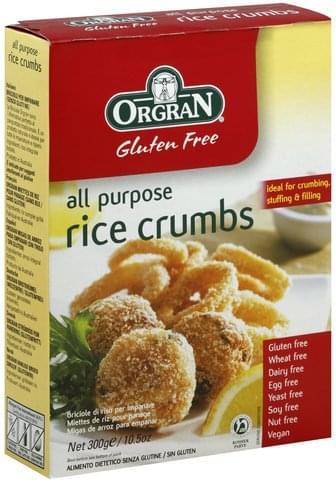 Orgran All Purpose Rice Crumbs - 10.5 oz