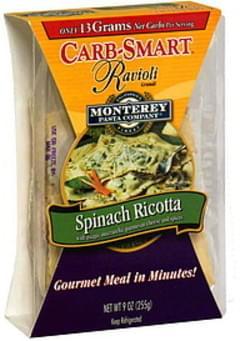 Monterey Pasta Company Ravioli Grandi Spinach Ricotta