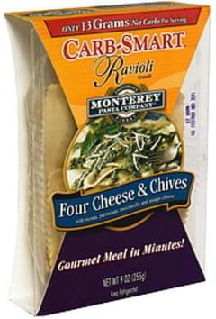 Monterey Pasta Ravioli Grandi Four Cheese & Chives