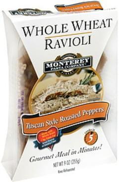 Monterey Pasta Company Ravioli Whole Wheat