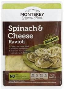 Monterey Gourmet Foods Ravioli Spinach & Cheese
