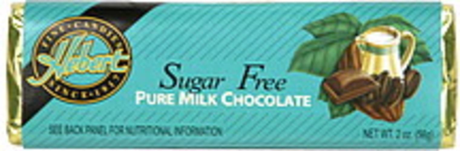 Hebert Pure, Sugar Free Milk Chocolate - 2 oz