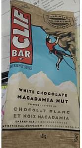 Cliff Bar White Chocolate Macadamia Nut
