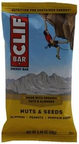 Clif Energy Bar Nuts & Seeds