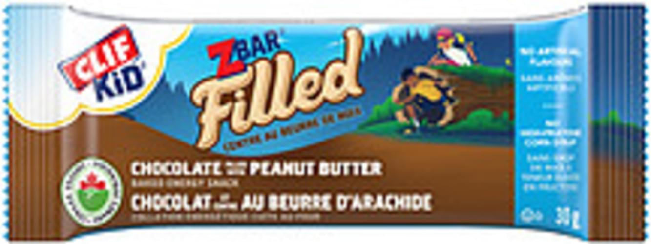 CLIF Kid® Filled Chocolate Filled With Peanut Butter CLIF