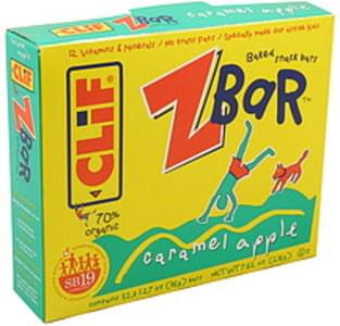 CLIF Baked Snack Bar ZBar, Caramel Apple