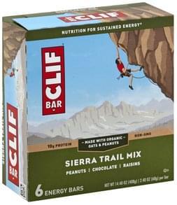 Clif Energy Bars Energy Bar, Sierra Trail Mix