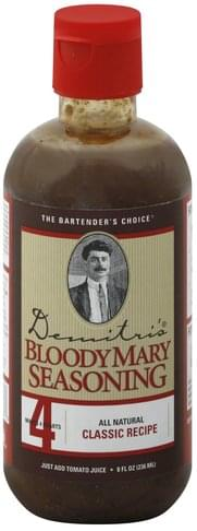 Demitris Classic Recipe Bloody Mary Seasoning - 8 oz