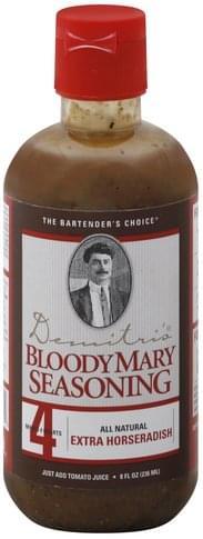 Demitris Extra Horseradish Bloody Mary Seasoning - 8 oz