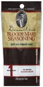 Demitris Bloody Mary Seasoning Classic Recipe