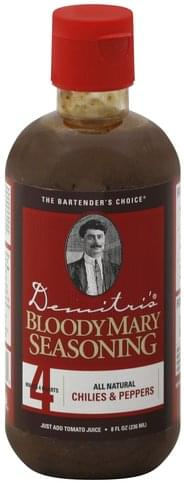 Demitris Chilies & Peppers Bloody Mary Seasoning - 8 oz