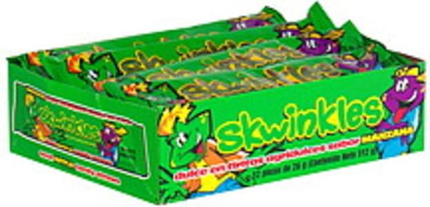 Lucas Sour Apple Candy Straws