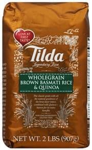 Tilda Rice Wholegrain Brown Basmati & Quinoa