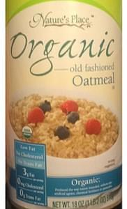 Nature's Place Organic Old Fashioned Oatmeal