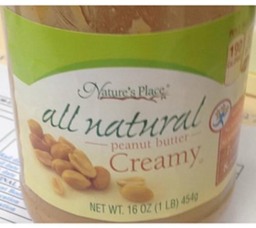 Nature's Place Creamy Peanut Butter - 32 g