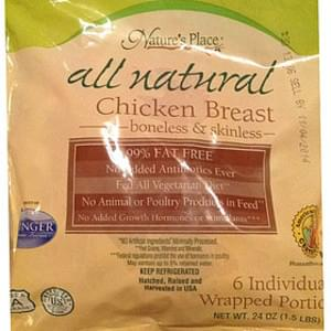 Nature's Place Chicken Breast