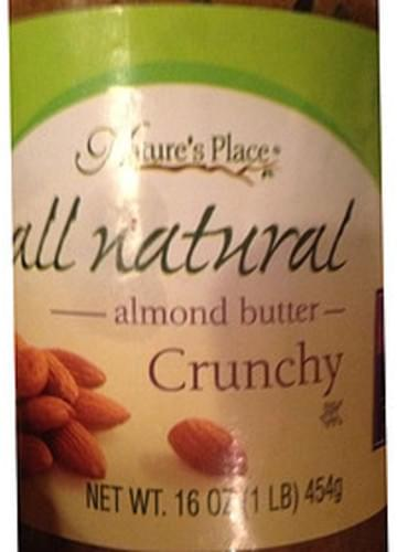 Nature's Place Crunchy Almond Butter - 30 g