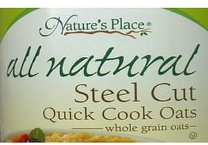 Nature's Place All Natural Steel Cut Quick Cook Oats