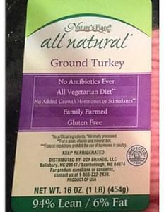 Nature's Place Ground Turkey