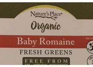 Nature's Place Baby Romaine Organic