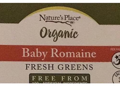 Nature's Place Organic Baby Romaine - 0 g