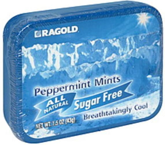 Ragold All Natural, Sugar Free Peppermint Mints - 1.5 oz