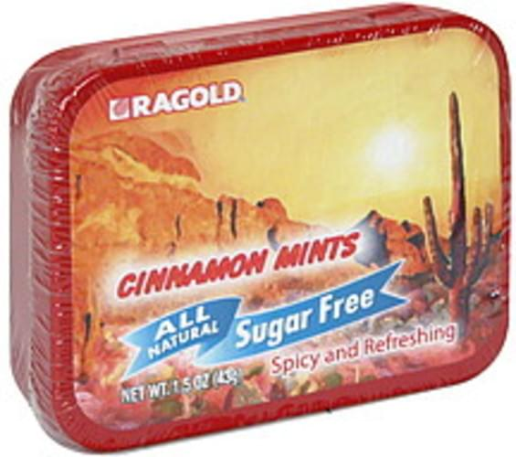 Ragold All Natural, Sugar Free Cinnamon Mints - 1.5 oz