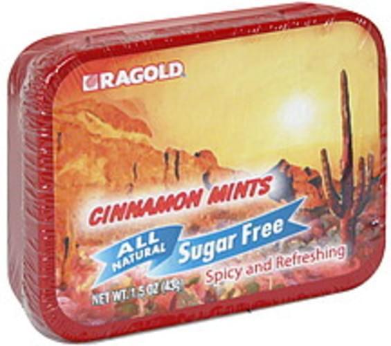 Ragold All Natural, Sugar Free Cinnamon Mints - 1.5 oz