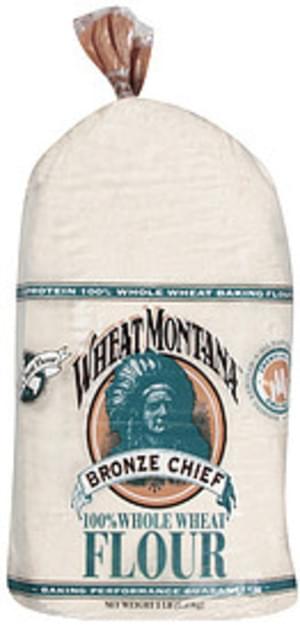 Bronze Chief Flour 100% Whole Wheat - 5 lb