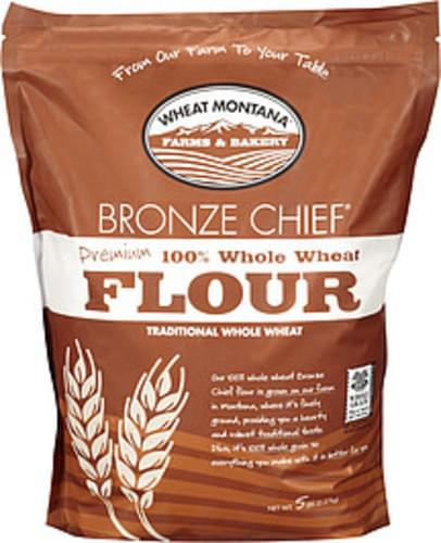 Wheat Montana Premium 100% Whole Wheat Flour - 5 lb
