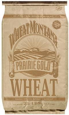 Wheat Montana Wheat Prairie Gold Hard White Spring
