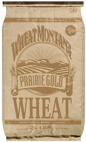 Wheat Montana Prairie Gold Hard White Spring Wheat - 25 lb
