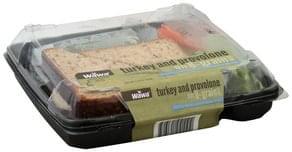 Wawa Sandwich Turkey and Provolone on 8-Grain Bread