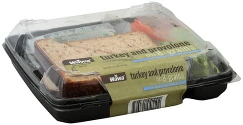 Wawa Turkey and Provolone on 8-Grain Bread Sandwich - 11.9 oz