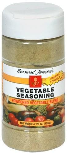 Bernard Jensens Vegetable Seasoning - 4.5 oz