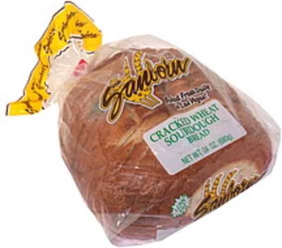 Sanborn Cracked Wheat Sourdough Bread - 24 oz
