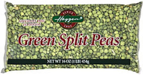 Haggen Split Peas Green